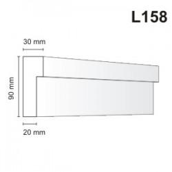 Listwa elewacyjna L158 30x90mm