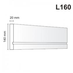 Listwa elewacyjna L160 20x140mm