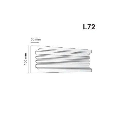 Listwa elewacyjna L72 30x100mm
