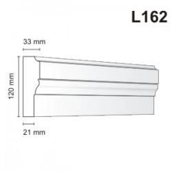 Listwa elewacyjna L162 33x120mm