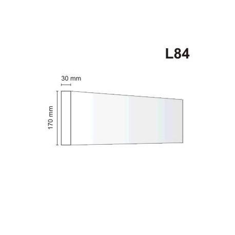 Listwa elewacyjna L84 30x170mm