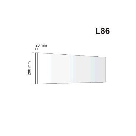 Listwa elewacyjna L86 20x280mm