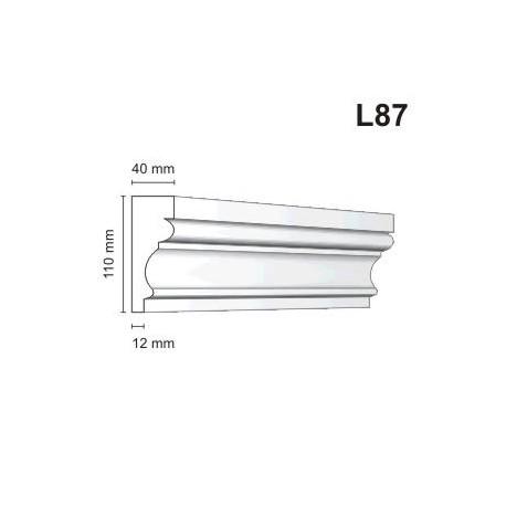 Listwa elewacyjna L87 40x110mm