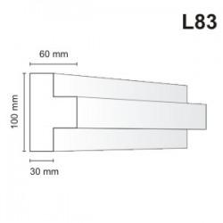 Listwa elewacyjna L83 60x100mm