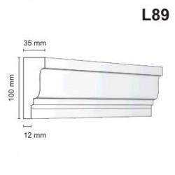 Listwa elewacyjna L89 35x100mm