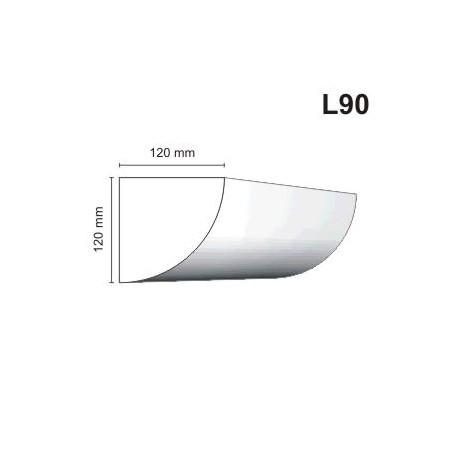 Listwa elewacyjna L90 120x120mm