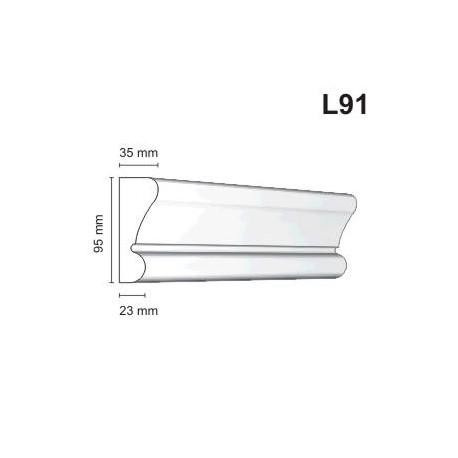 Listwa elewacyjna L91 35x95mm