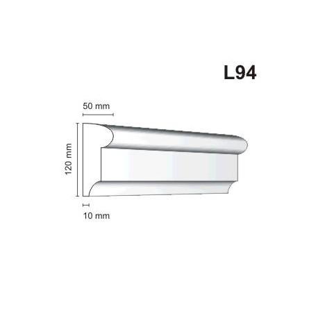Listwa elewacyjna L94 50x120mm
