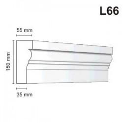 Listwa elewacyjna L66 55x150mm