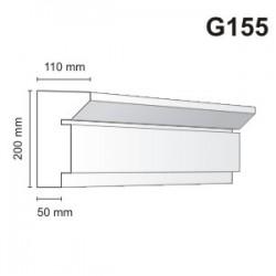 Gzyms elewacyjny G155 110x200mm