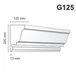 Gzyms elewacyjny G125 120x220mm
