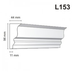 Listwa elewacyjna L153 44x96mm