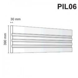 Pilaster elewacyjny PIL06 30x390mm