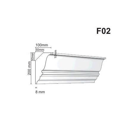 Faseta F02 100x200mm