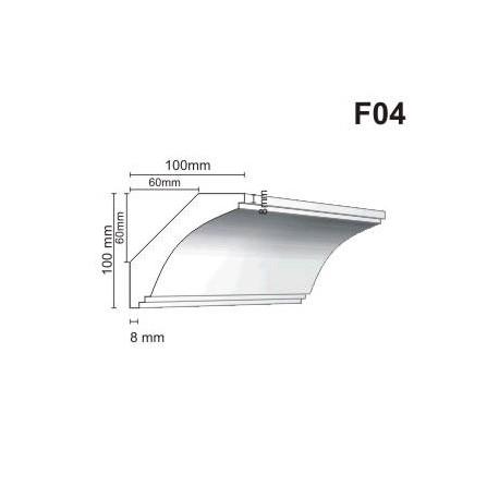 Faseta F04 100x100mm