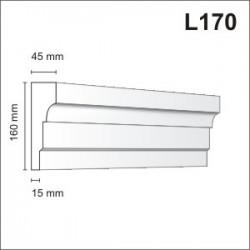 Listwa elewacyjna L170 45x160mm
