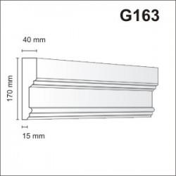 Gzyms elewacyjny G163 40x170mm