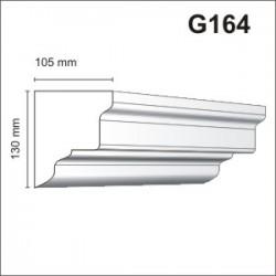 Gzyms elewacyjny G164 105x130mm