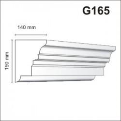 Gzyms elewacyjny G165 140x190mm