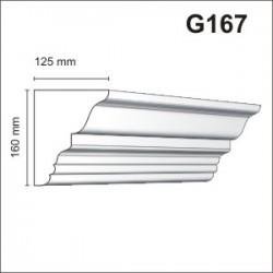 Gzyms elewacyjny G167 125x160mm