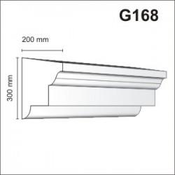 Gzyms elewacyjny G168 200x300mm