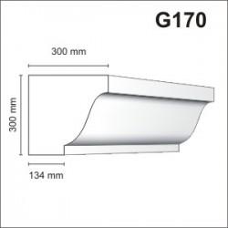 Gzyms elewacyjny G170 300x300mm