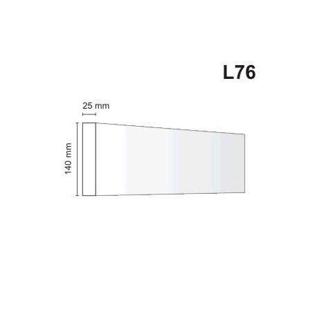 Listwa elewacyjna L76 25x140mm