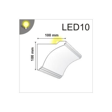 Listwa oświetleniowa LED10 100x100mm