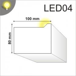 Listwa oświetleniowa LED04 100x80mm