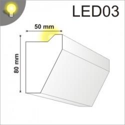 Listwa oświetleniowa LED03 50x80mm