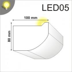 Listwa oświetleniowa LED05 100x80mm
