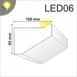 Listwa oświetleniowa LED06 100x80mm