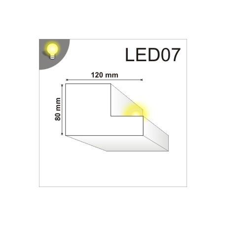Listwa oświetleniowa LED07 120x80mm