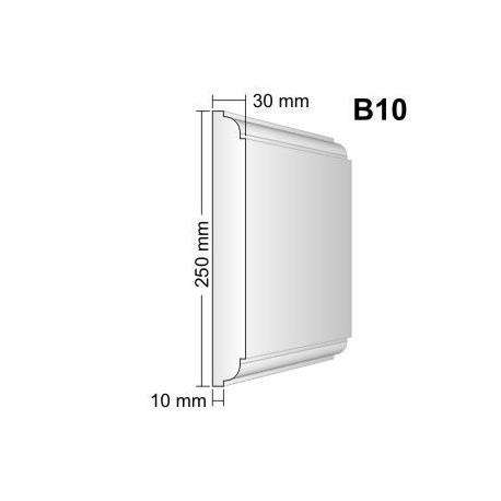 Bonia narożna B10F25 30x250x250mm