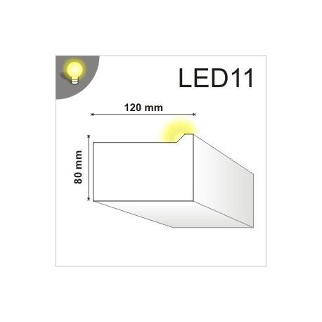Listwa oświetleniowa LED11 120x80mm