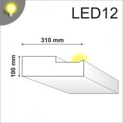 Listwa oświetleniowa LED12 100x310mm