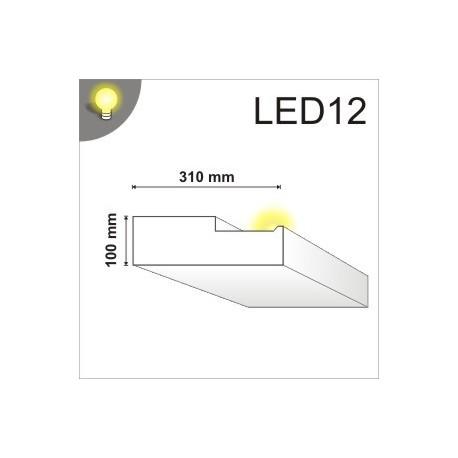 Listwa oświetleniowa LED12 100x100mm