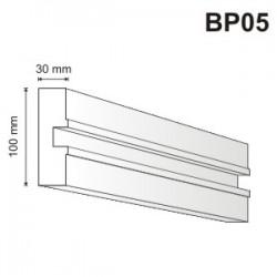 Bonia pozioma - boniowanie BP05 30x100mm