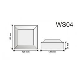 Wspornik WS04 120x120x50mm
