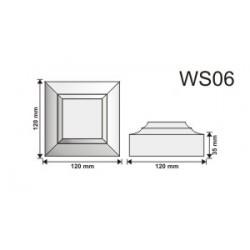 Wspornik WS06 120x120x55mm
