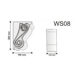 Wspornik WS08 120x280x190mm