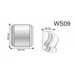 Wspornik WS09 100x100x40mm