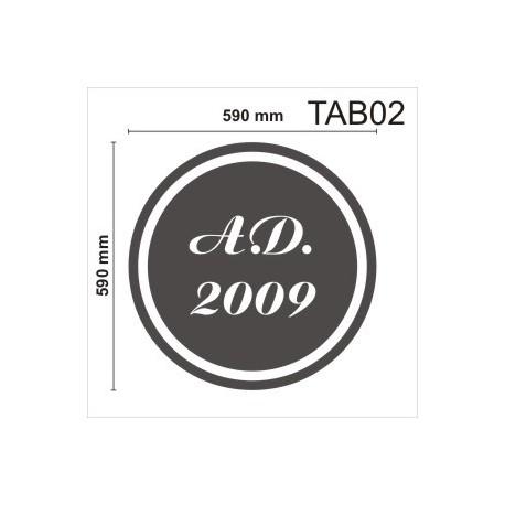Tablica TAB01 1000x590x50mm