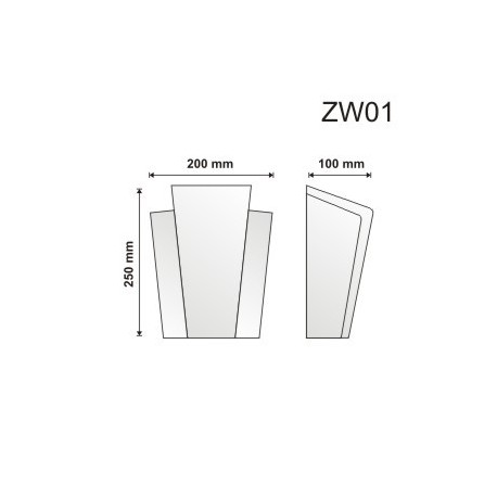 Zwornik ZW01 200x250x100mm