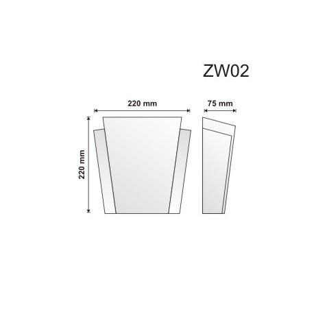 Zwornik ZW02 220x220x75mm