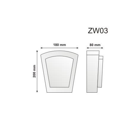 Zwornik ZW03 180x200x80mm