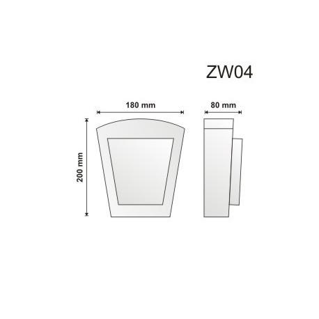 Zwornik ZW04 180x200x80mm