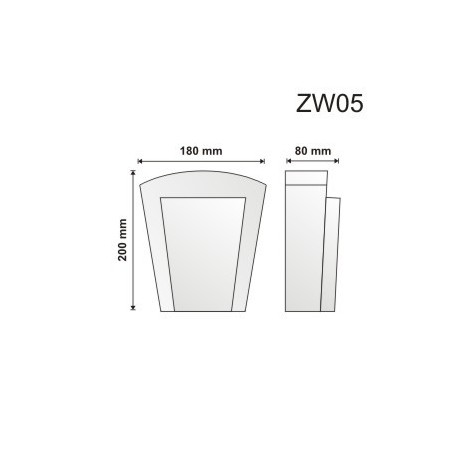 Zwornik ZW05 180x200x80mm