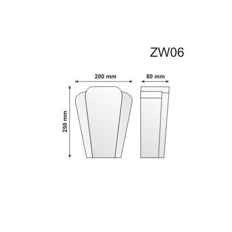 Zwornik ZW06 200x250x80mm